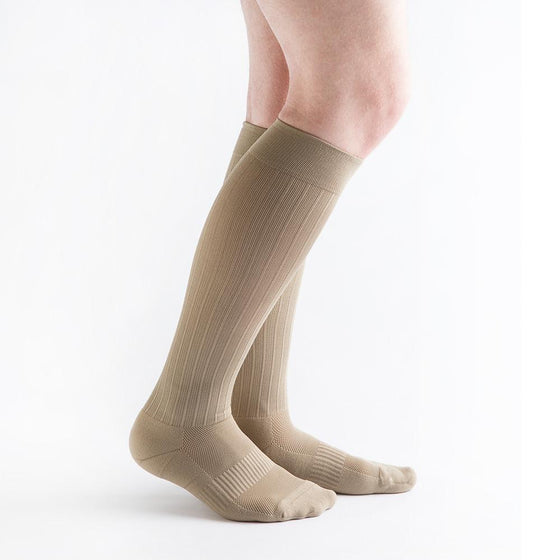 VenActive Men's Cushion Rib 15-20 mmHg Compression Sock