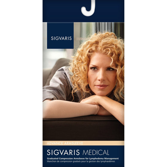 Sigvaris Advance 30-40 mmHg Armsleeve w/ Gauntlet