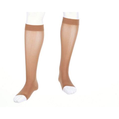 Mediven Assure 20-30 mmHg OPEN TOE Knee High w/ Silicone Beaded Top Band