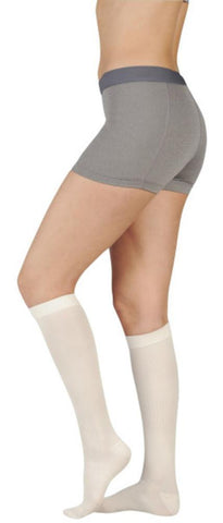 Juzo Soft 20-30 mmHg OPEN TOE Knee High w/ Silicone Top Band