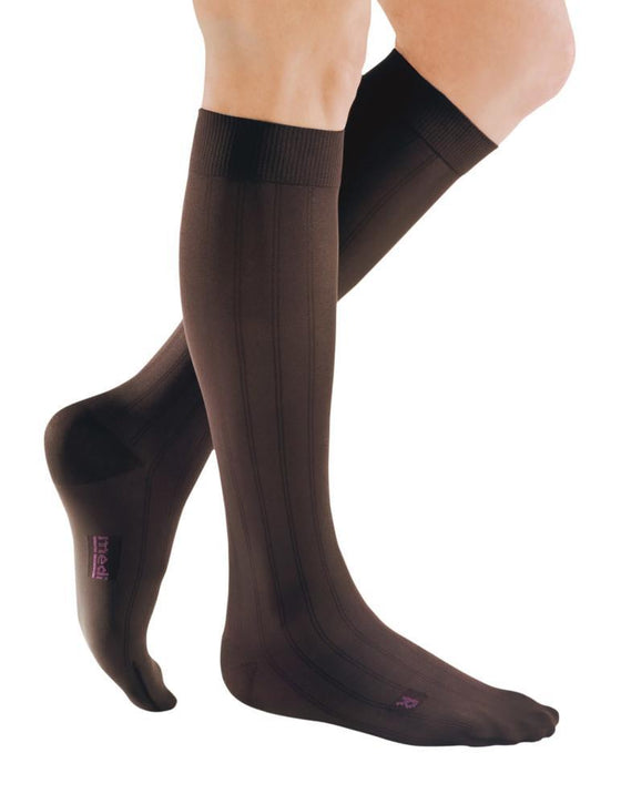 Mediven for Men Classic 30-40 mmHg Knee High, Extra Wide Calf
