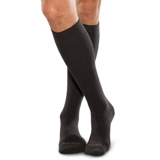 SmartKnit SILVER Seamless Diabetic Over-The-Calf Socks