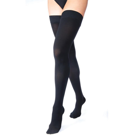 fe67ab3974 Jobst Relief 30-40 mmHg Thigh High w/ Silicone Top Band – Support ...