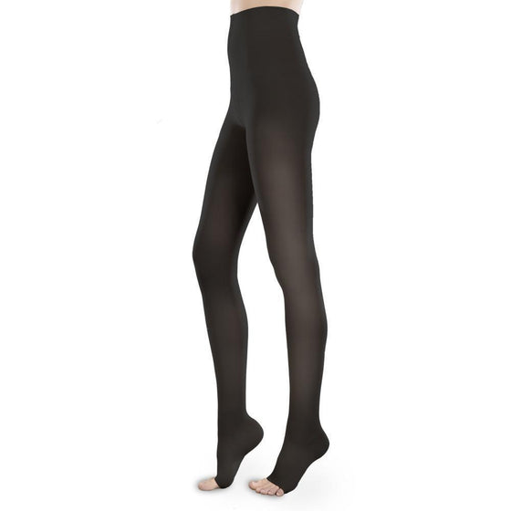 Therafirm Sheer Ease Women's 15-20 mmHg OPEN TOE Pantyhose