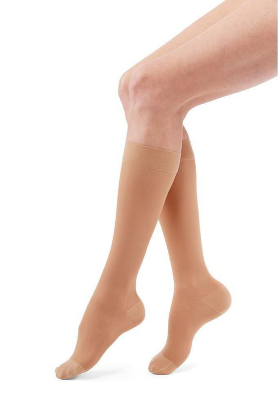 Duomed Transparent Women's 20-30 mmHg Knee High