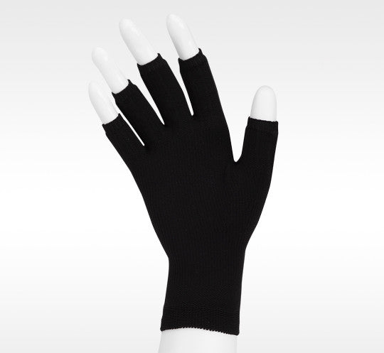 Juzo 15-20 mmHg Soft Seamless Glove, Black