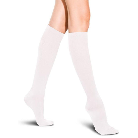 TherafirmLight Women's 10-15 mmHg Ribbed Knee High