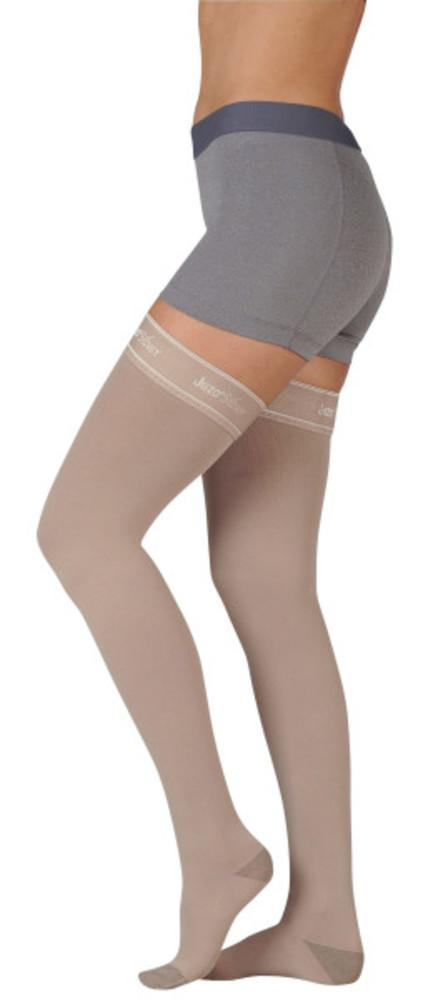Juzo Soft Silver 20-30 mmHg Thigh High w/ Silicone Top Band