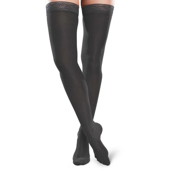 Therafirm Ease Microfiber Women's 15-20 mmHg Thigh High
