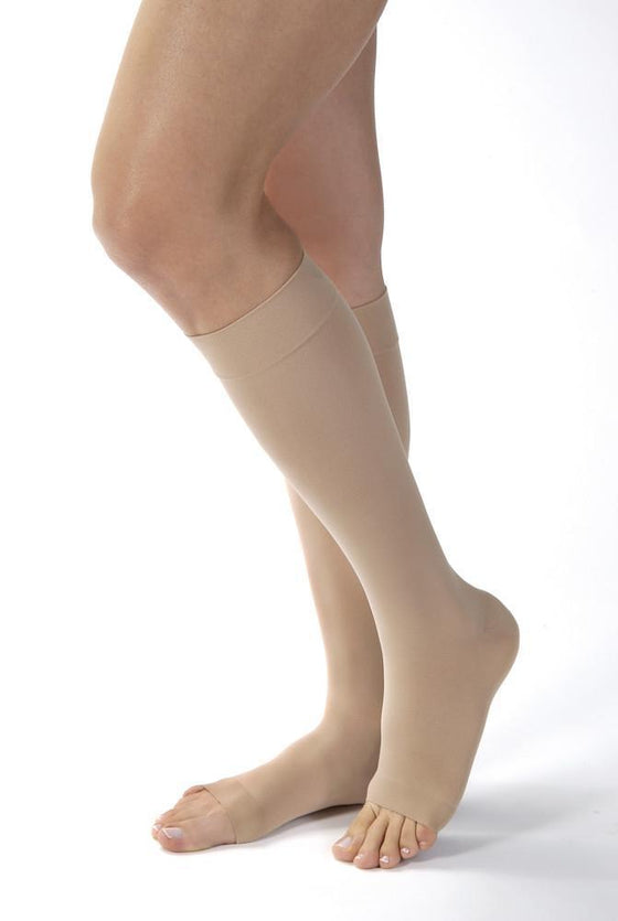 Jobst Opaque SoftFit Women's 30-40 mmHg OPEN TOE Knee High