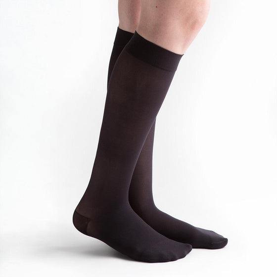 VenActive Women's Sheer 20-30 mmHg Knee Highs
