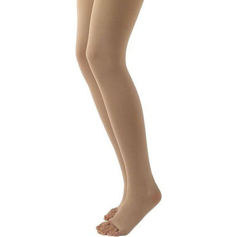 Sigvaris 504T Natural Rubber 40-50 mmHg OPEN TOE Thigh High