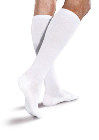 Core-Spun Cushioned 15-20 mmHg Knee High Compression Socks