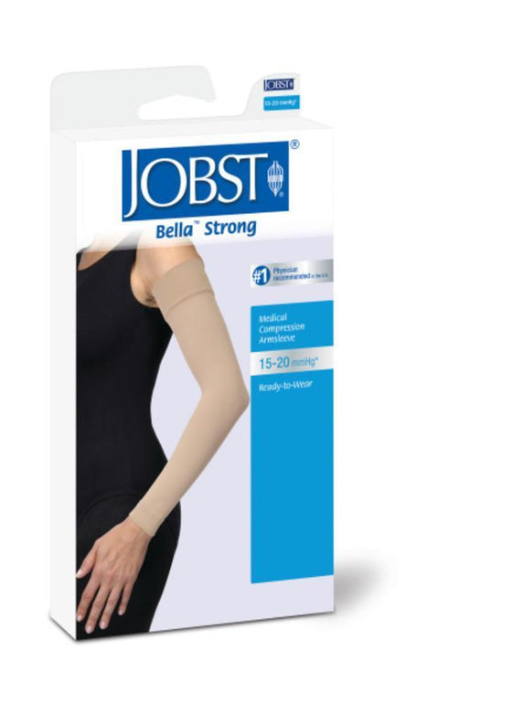 Jobst Bella Strong 15-20 mmHg Armsleeve w/ Silicone Top Band
