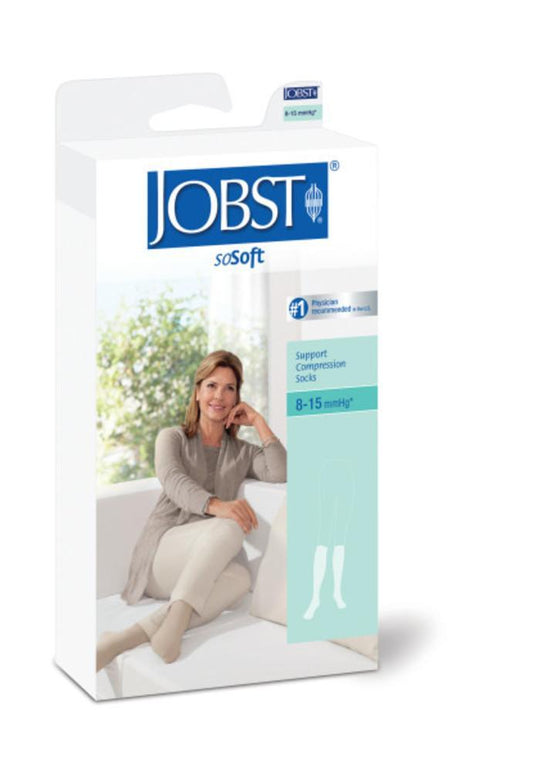 Jobst soSoft Women's 8-15 mmHg Brocade Knee High