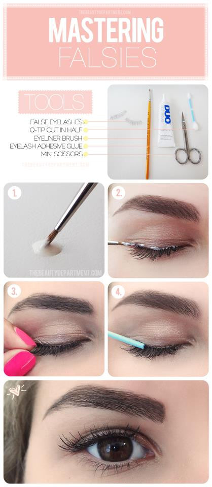 Make applying lash strips easy + foolproof
