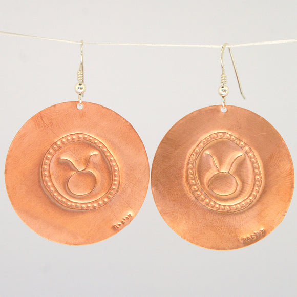 Taurus Zodiac Earrings