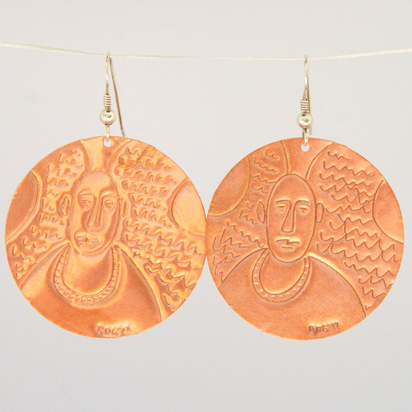 Archangel Michael Earrings