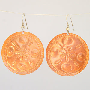 Cornfield Abundance Mandala Earrings