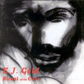 Ritual of the Cave Transformative Music CD by E.J. Gold cover art Charcoal image by E.J. Gold