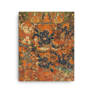 Mahakala Thangka Canvas Print