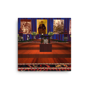Chen-Rig Temple Canvas Print