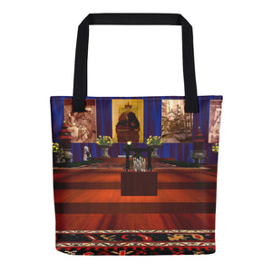 Chen-Rig Temple Hand-Sewn Weather Resistant Tote Bag