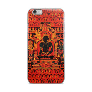Dhyani Buddha Akshobhya Thangka iPhone 5/5s/Se, 6/6s, 6/6s Plus Hybrid Case