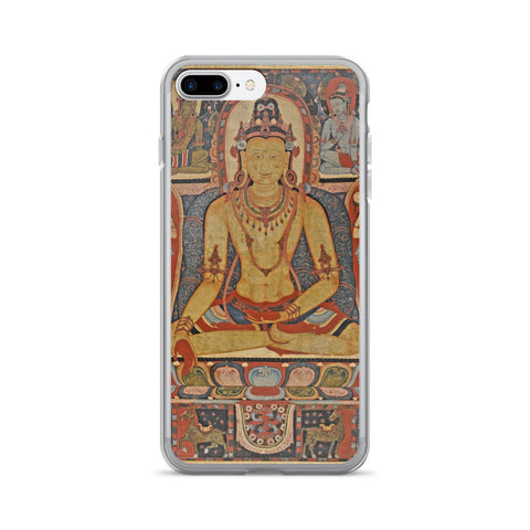 Jina Buddha Ratnasambhava Thangka iPhone 7/7 Plus Hybrid Case