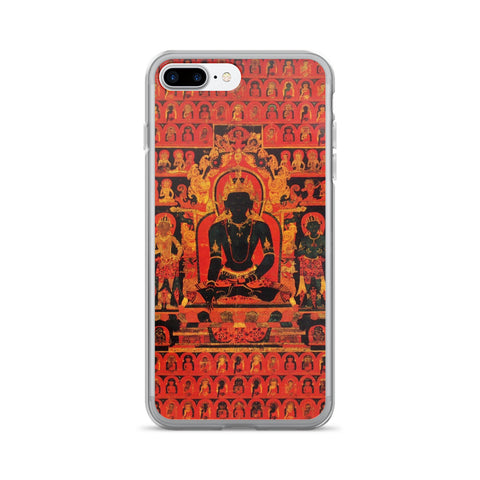 Dhyani Buddha Akshobhya Thangka iPhone 7/7 Plus Hybrid Case