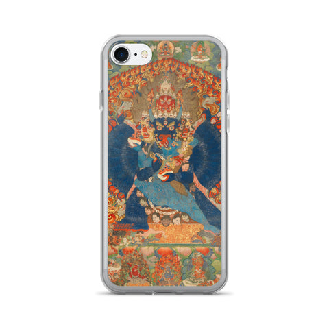 Vajrabhairava Thangka iPhone 7/7 Plus Hybrid Case
