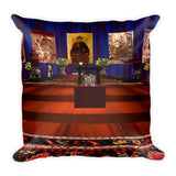 Chen-Rig Temple Square Pillow