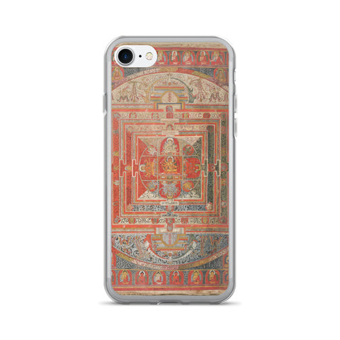 Manjuvajra Mandala Thangka iPhone 7/7 Plus Hybrid Case