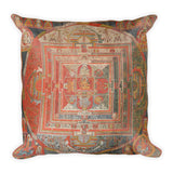 Manjuvajra Mandala Thangka Pillow
