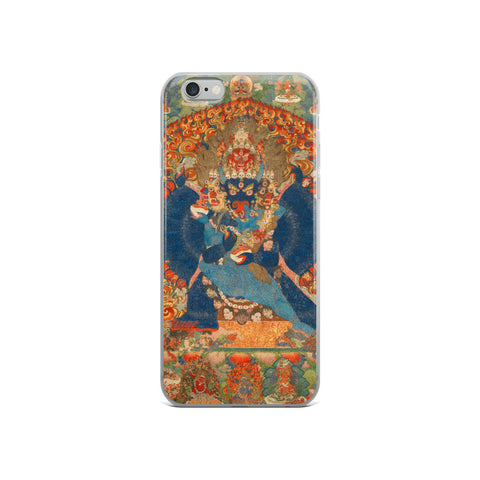 Vajrabhairava Thangka iPhone 5/5s/Se, 6/6s, 6/6s Plus Hybrid Case