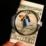 Portal Beta Blocker Crystal Quantum Radio Money Clip