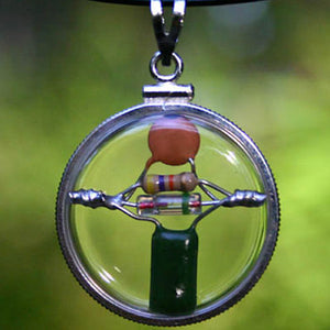Circle of Peace CQR - Crystal Quantum Radio Beta-blocking Amulet