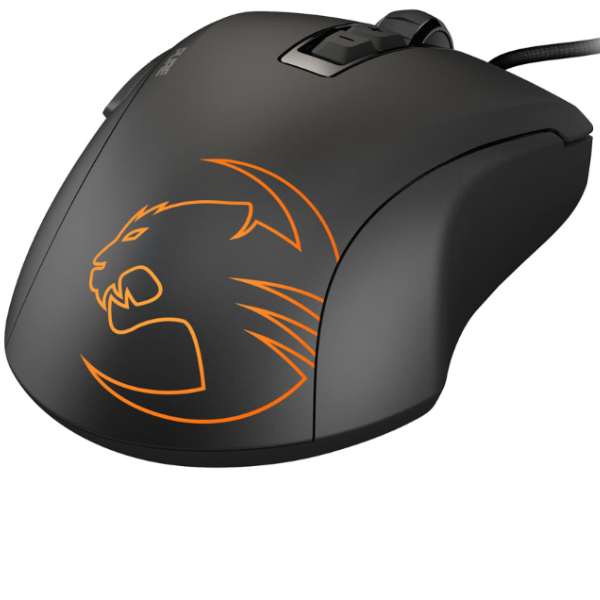 ROCCAT Kone Pure Owl-Eye 12000dpi Optical Sensor RGB Gaming Mouse, Black - gameregion