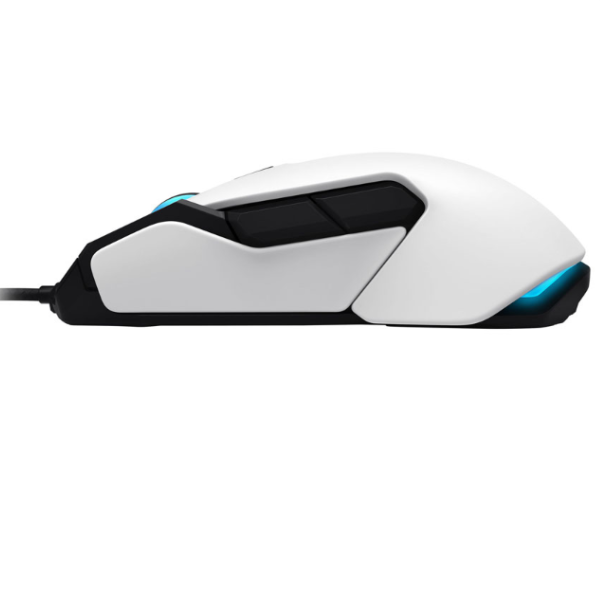 ROCCAT Kova Pure Performance 7000DPI Optical Gaming Mouse, 1.8m, White - gameregion
