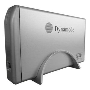 DYNAMODE USB 2.0 3.5 Inch SATA & IDE Hard Disk Drive Enclosure with Rounded Design, Silver (USB-HD3.5SI-1-A) - gameregion