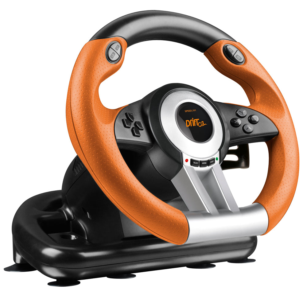 SPEEDLINK Drift O.Z. Racing Wheel Black/Orange (SL-6695-BKOR-01) - gameregion