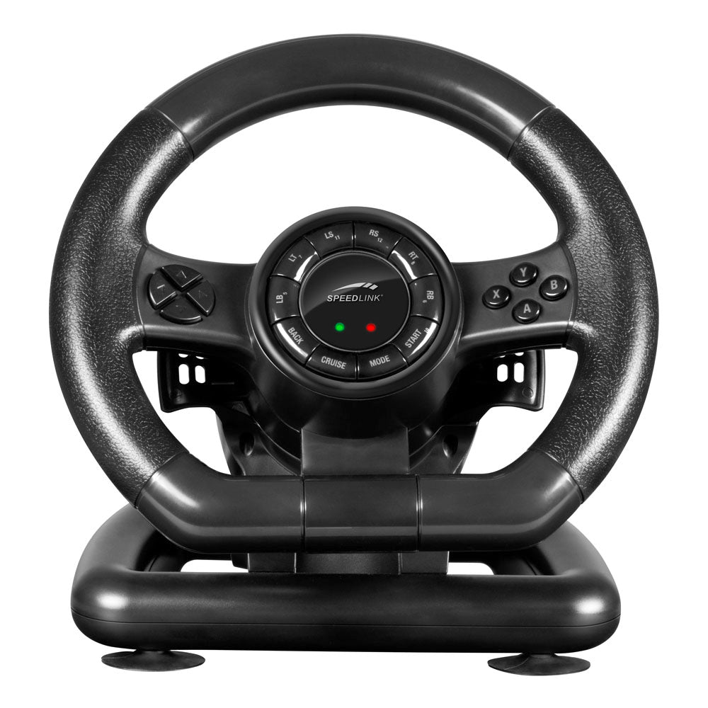 SPEEDLINK Black Bolt Racing Wheel for PC Black (SL-650300-BK) - gameregion