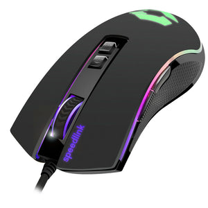 SPEEDLINK Orios 5000pdi RGB Gaming Mouse, Black - gameregion