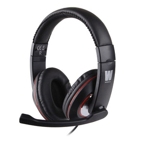 WASDKEYS H200 Stereo Gaming Headset Black (H200) - gameregion