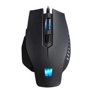 WASDKEYS M100 2400dpi Laser Gaming Mouse , Black (M100) - gameregion