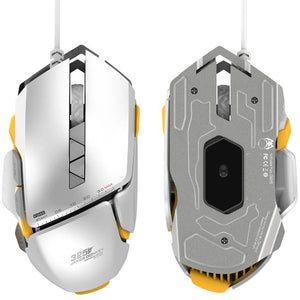 Optical USB Wired Pro Gaming Mouse with 4 Adjustable Level RGB LED Backlight - gameregion