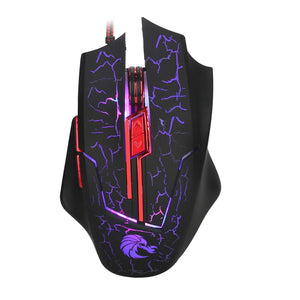 2.4Ghz Mini Portable Wired Optical 5500DPI  Gaming  Mouse - gameregion