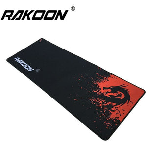 Zimoon Large Gaming Mouse Pad With Lock Edge Red Dragon 30*80CM Speed/Control - gameregion