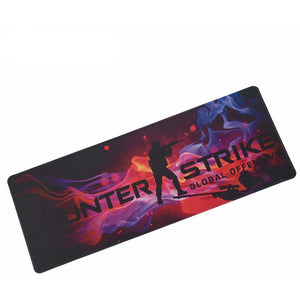 CS GO Print Locking Edge Rubber Mousepads for Counter Strike - gameregion