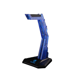 SADES WOLFBONE Blue Headset Stand - gameregion
